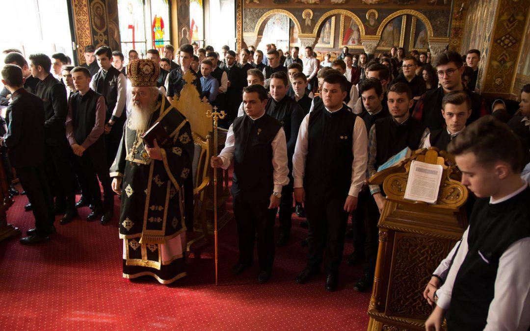 Liturghia Darurilor mai înainte Sfințite, la Seminarul Teologic Ortodox din Cluj-Napoca