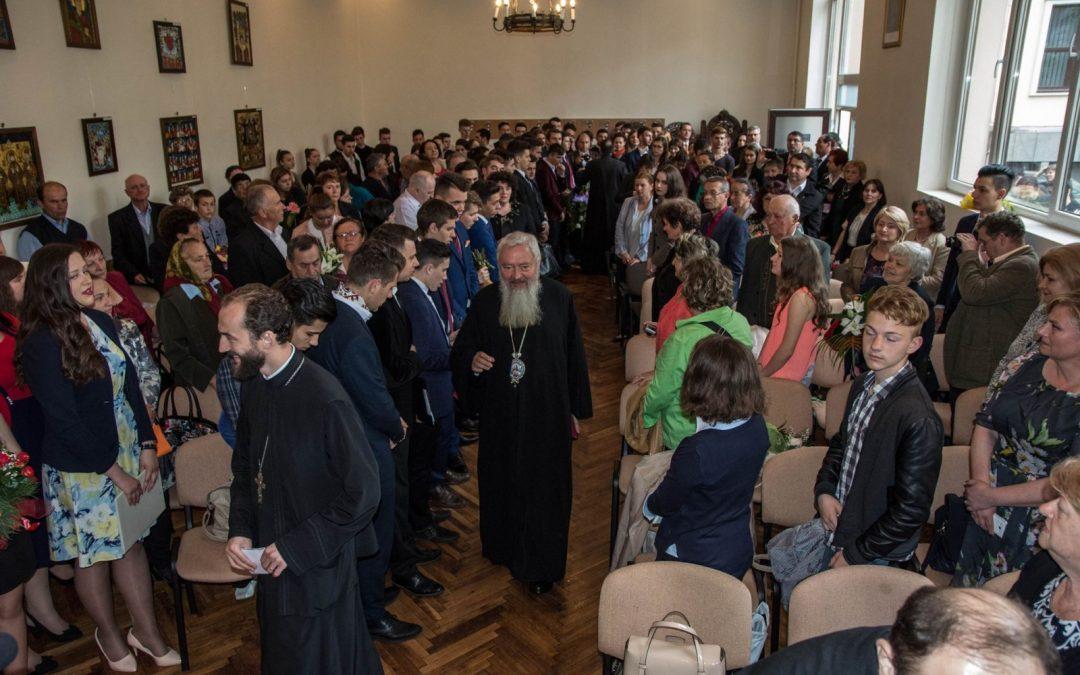 Festivitatea de absolvire la Seminarul Teologic din Cluj-Napoca