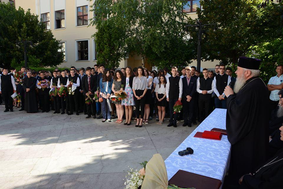 Festivitatea claselor IX – XI la Seminarul Teologic din Cluj