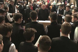 Corul Seminarului Teologic la Catedrala Mitropolitană